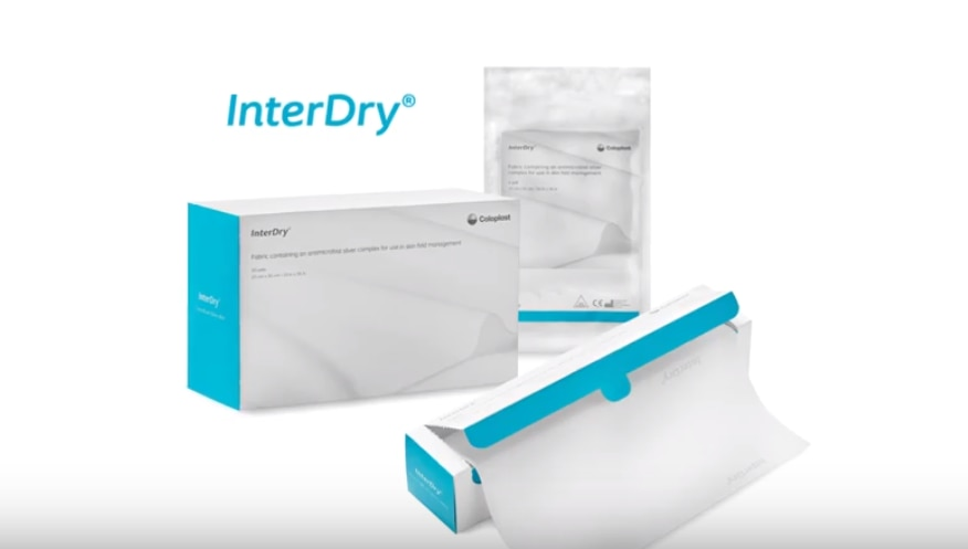 InterDry® – die 3-in-1 Lösung für ein effektives Hautfaltenmanagement