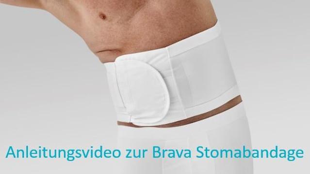 Anwendung von Brava® Stoma Bandage